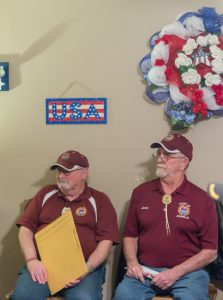 Lyle and Larry from Dept Headquarters to present Charter